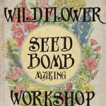 Wildflower seed bomb logo