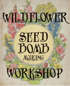Wildflower Seedbomb Workshop - Wildflower seed bomb logo